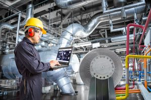 EP2C Energy - Engineer in a thermal power plant factory